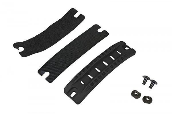 FMA - Szyna montażowa do hełmów - czarna