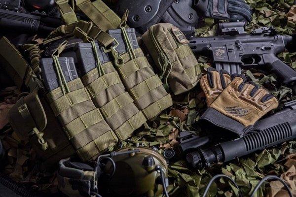 Armored Claw - Rękawice BattleFlex  - sage green