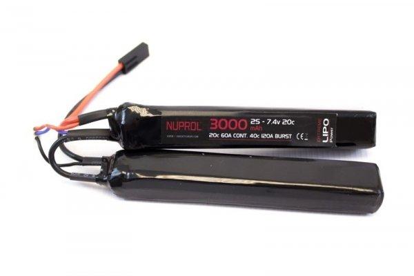 Nuprol - Akumulator LiPo 7,4V 3000mah 20C