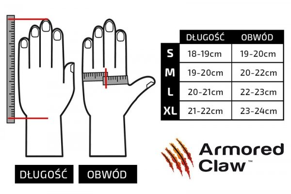 Rękawice antyprzekłuciowe Armored Claw Direct Safe - tan