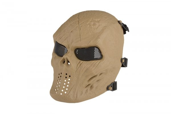 Maska Tactical Skull - Tan