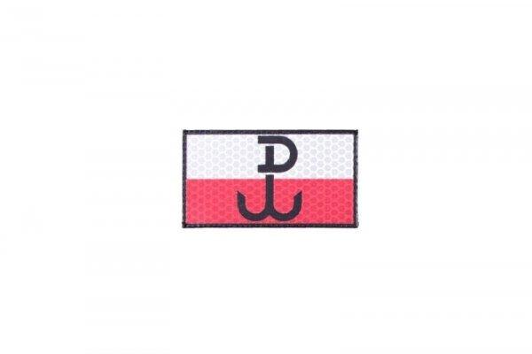 Naszywka IR - Polska Walcząca - full color