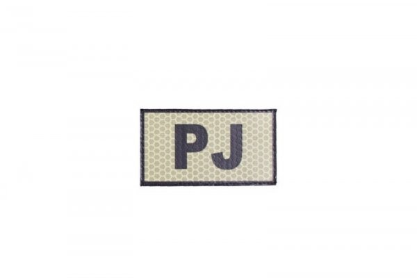 Naszywka IR - PJ - tan