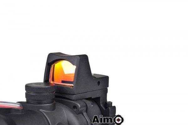 Luneta ACOG 4X32C (z światłowodem i RMR) - czarna