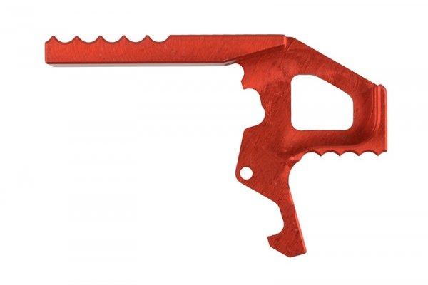 Retro Arms - Powiększony chwyt dźwigni zamka CNC do replik M4 - czerwony