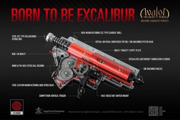 VFC - Replika Avalon Saber Carbine
