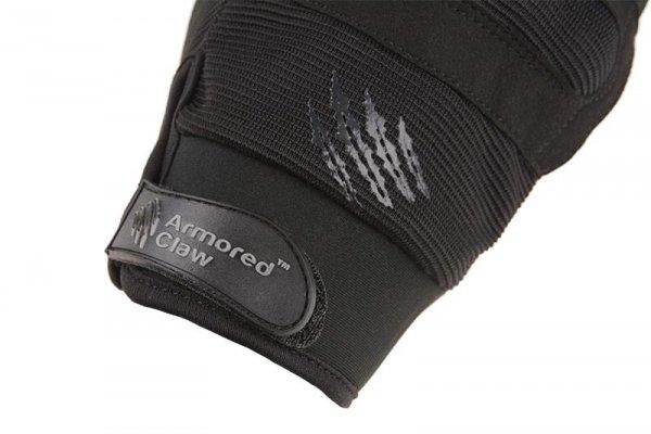 Rękawice taktyczne Armored Claw Shield Flex - Czarne