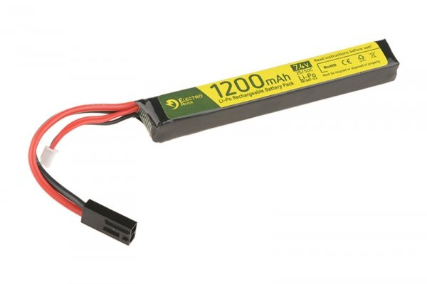 ElectroRiver - Akumulator LiPo 7,4V 1200mAh 25C