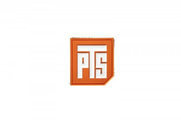 Naszywka 3D 1.5 PVC Tab - pomarańczowa