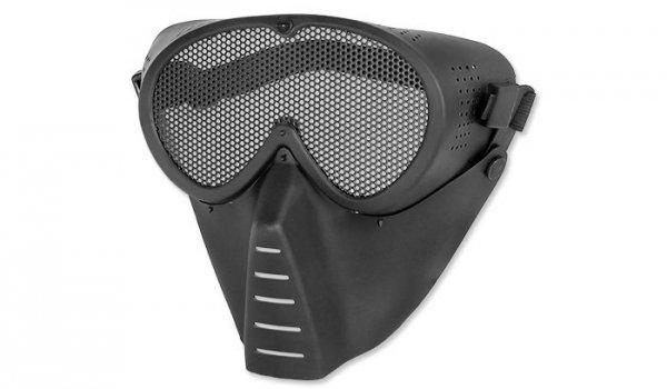 Strike Systems - Maska z siatką do ASG - Czarny - 15173
