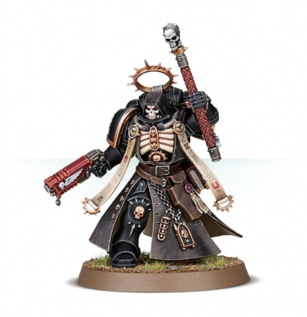 Warhammer 40K - Space Marines Primaris Chaplain