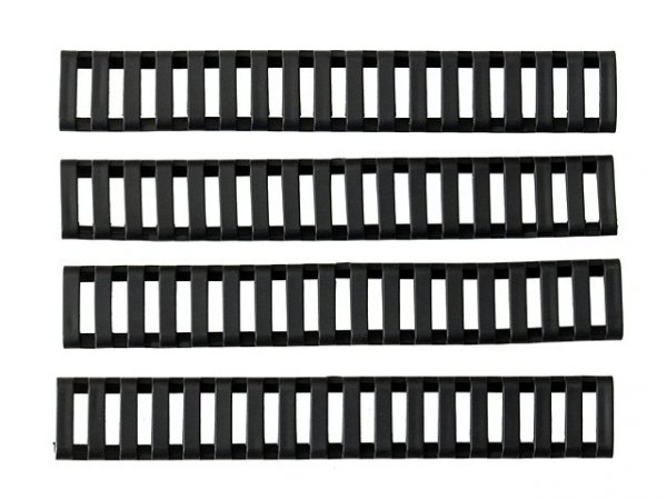 Zestaw drabinkowych paneli na szynę SET C - Black [Big Dragon]