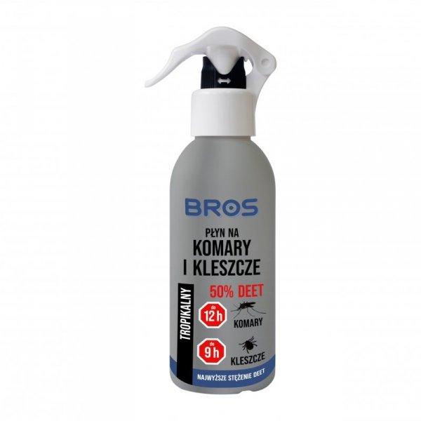 Płyn Bros na komary i kleszcze 130 ml. DEET