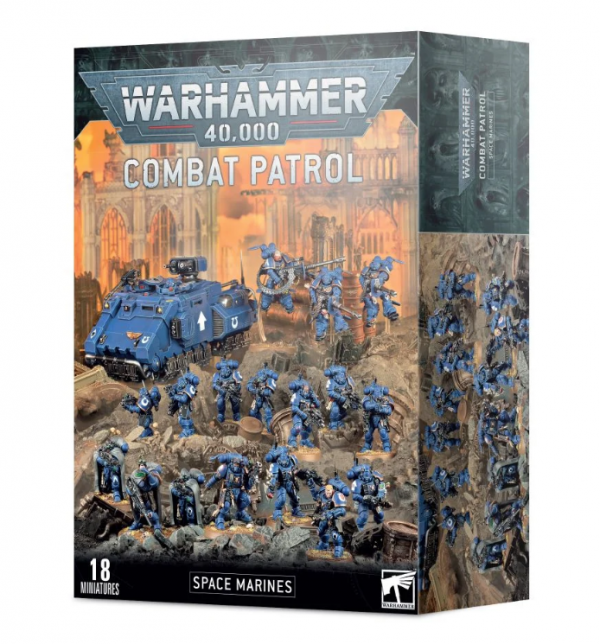 Warhammer 40K - Combat Patrol Space Marines