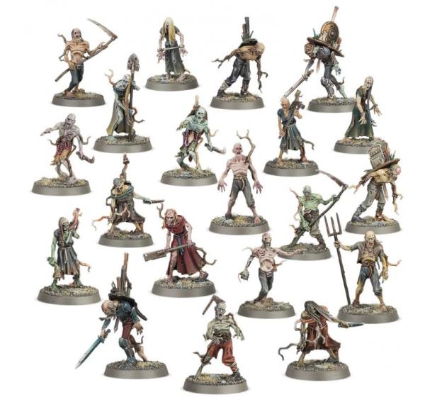 Warhammer AoS - Deadwalker Zombies