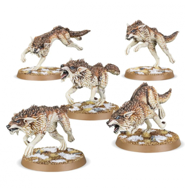 Warhammer 40K - Space Wolves Fenrisian Wolves
