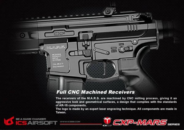 ICS - Replika CXP-MARS Carbine SSS version
