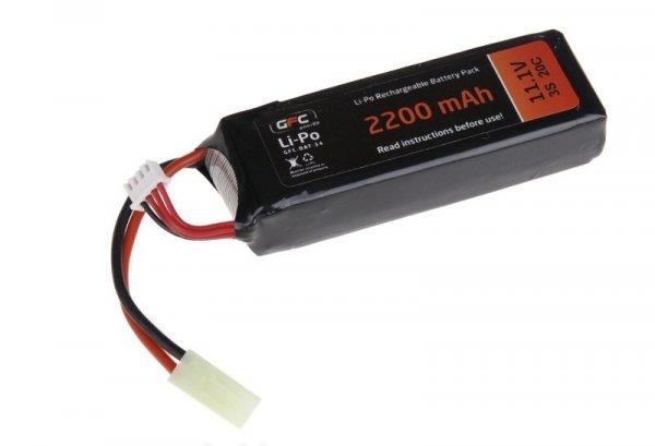 Akumulator LiPo 11,1V 2200mAh 20/40C