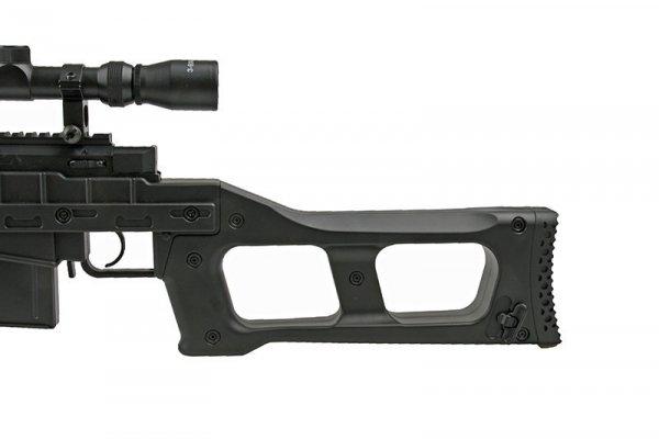 Replika karabinu snajperskiego MB4409D - z lunetą i dwójnogiem