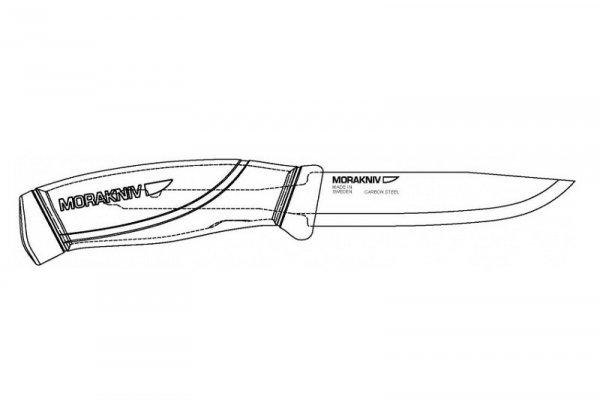 Nóż Morakniv® Companion MG - olive green