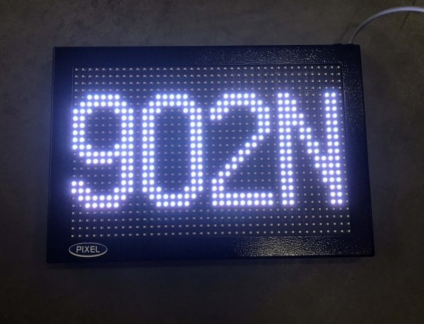 Tablica XTD 24x40-10x9 RGB - Produkt kolekcjonerski
