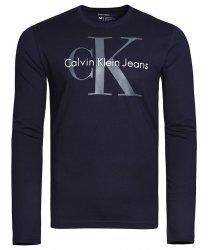CALVIN KLEIN JEANS LONGSLEEVE MĘSKI GRANATOWY