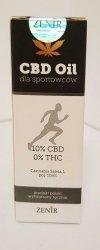 Olejek CBD 10% dla sportowców