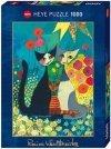 Puzzle 1000 Heye 29616 Koty - Flowerbed