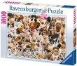 Puzzle 1000 Ravensburger 156337 Wielka Rodzina Psów