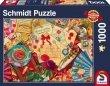 Puzzle 1000 Schmidt 58218 Listy Miłosne