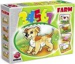 ! Pierwsze Puzzle Malucha Maxim 3,4,5,6,7 Farma