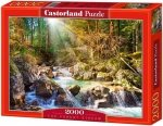 Puzzle 2000 Castorland C-200382 The Forest Stream