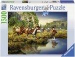 Puzzle 1500 Ravensburger 163045 Dzikie Konie