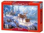 Puzzle 1000 Castorland C-102501 Winter Mountain Light