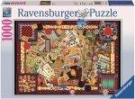 Puzzle 1000 Ravensburger 194063 Vintage - Gry