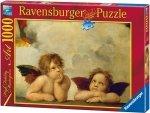 Puzzle 1000 Ravensburger 155446 Raphael - Amorki - Aniołki