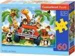 Puzzle 60 Castorland B-06793 Safari