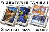 PUZZLE 1000 TREFL VELVET ! ZESTAW 3 + PUZZLE GRATIS !