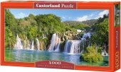 Puzzle 4000 Castorland C-400133 Wodospad - Krka Waterfalls - Croatia