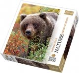 Puzzle 1000 Trefl 10518 Nature - Niedźwiedź - Grizzly