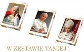PUZZLE 1000, 500, 260 TREFL ! ZESTAW 3w1 Papież Jan Paweł II