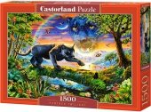Puzzle 1500 Castorland C-151356 Czarna Pantera