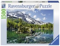 Puzzle 1500 Ravensburger 162826 Magia Gór - Bergmagie