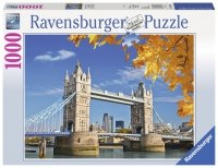 Puzzle 1000 Ravensburger 196371 Widok na Tower Bridge