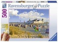 Puzzle 500 Ravensburger XXL 136520 Plaża - Ahlbeck