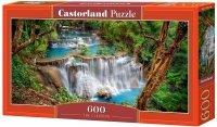 Puzzle 600 Castorland B-060160 Wodospad