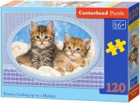 Puzzle 120 Castorland B-13111 Dwa Kotki