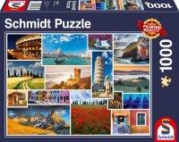 Puzzle 1000 Schmidt 58339 Włochy - Kolaż