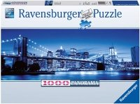 Puzzle 1000 Ravensburger 150502 New York Nocą - Panorama