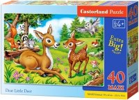 Puzzle 40 Maxi Castorland B-04261 Sarna i Jelonek